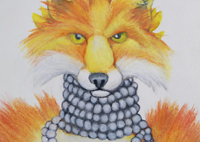 Fox Fur and Pearls