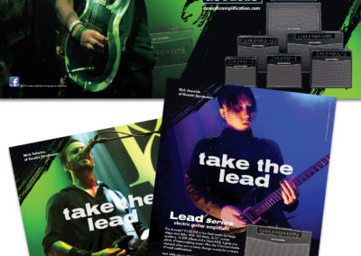Acoustic: Lead Series Amplifier Print Ad