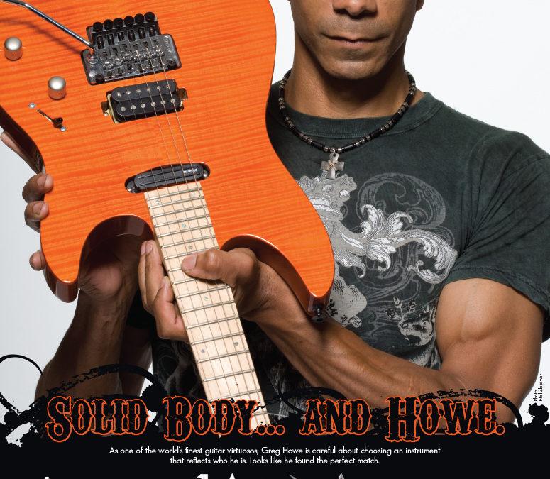 Laguna Guitars: Solid Body Greg Howe Launch Ad