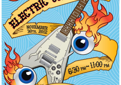 Guitar Center Electric Jam Poster and Digital Graphics: November 2012