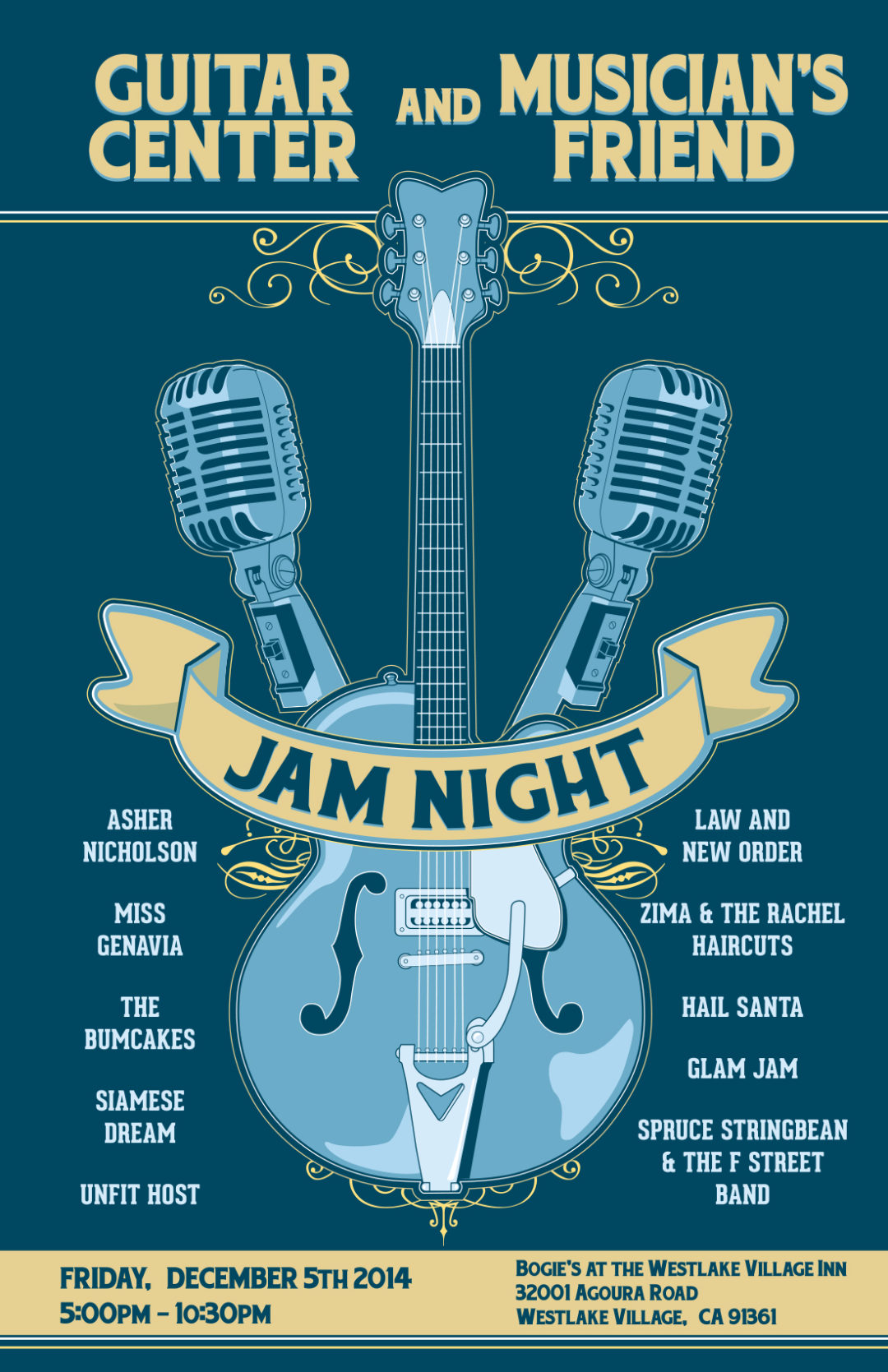 Guitar Center and Musician's Friend Jam Night: December 2014