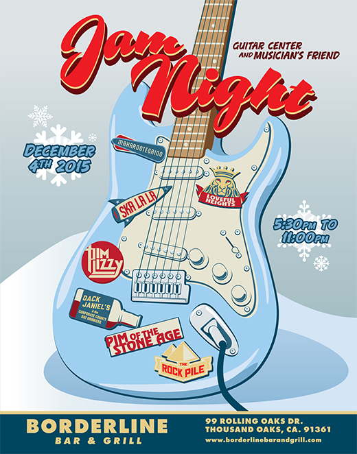 Guitar Center and Musician's Friend Jam Night: December 2015