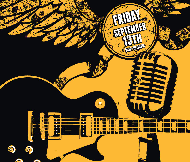 Guitar Center Musician's Jam Night Poster and Digital Graphics: September 2013