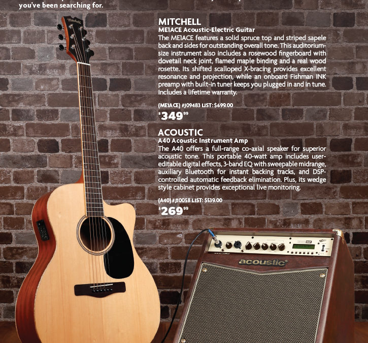 Acoustic and Mitchell: Spotlight Page