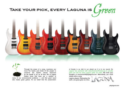 Laguna: Every Laguna is Green Ad