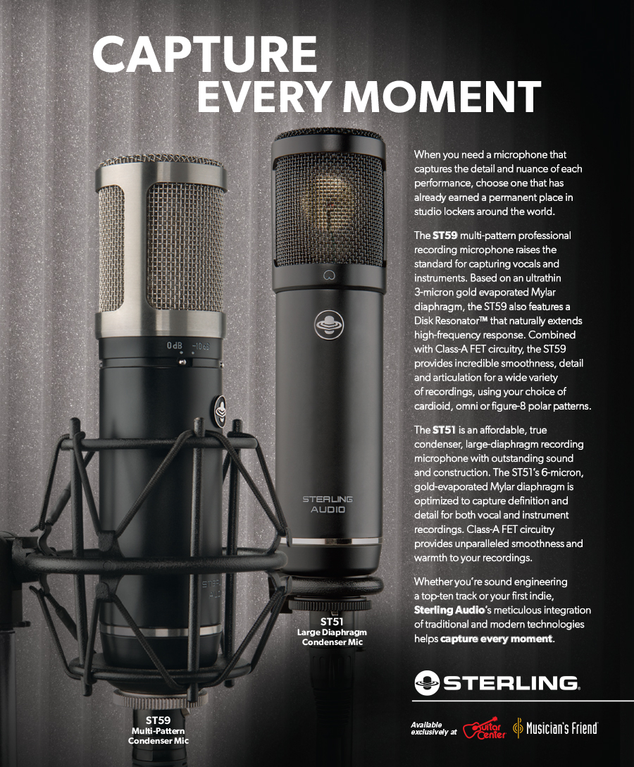Sterling Audio: Capture Every Moment Ad