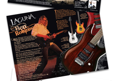 Laguna Guitars Showcase Booklet