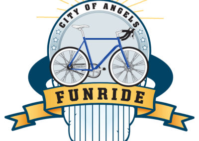 City of Angels Funride Event Artwork