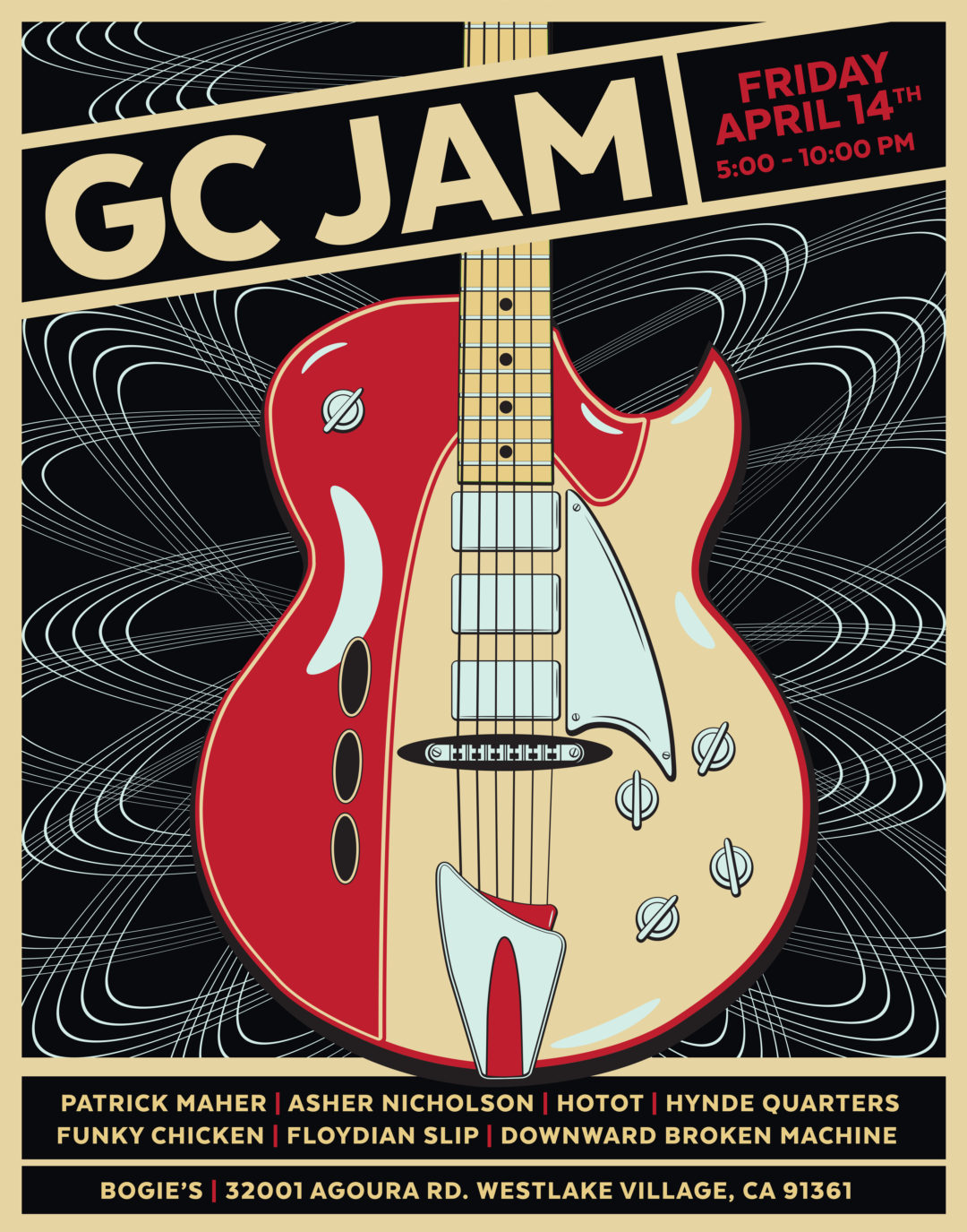 Guitar Center Jam Night: April 2017