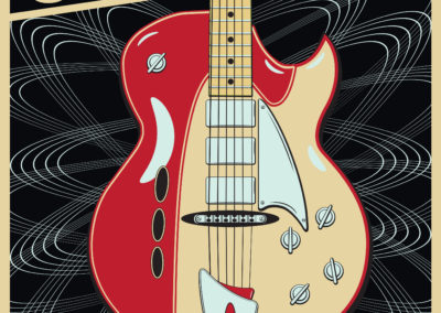 Guitar Center Jam Night Poster and Digital Graphics: April 2017