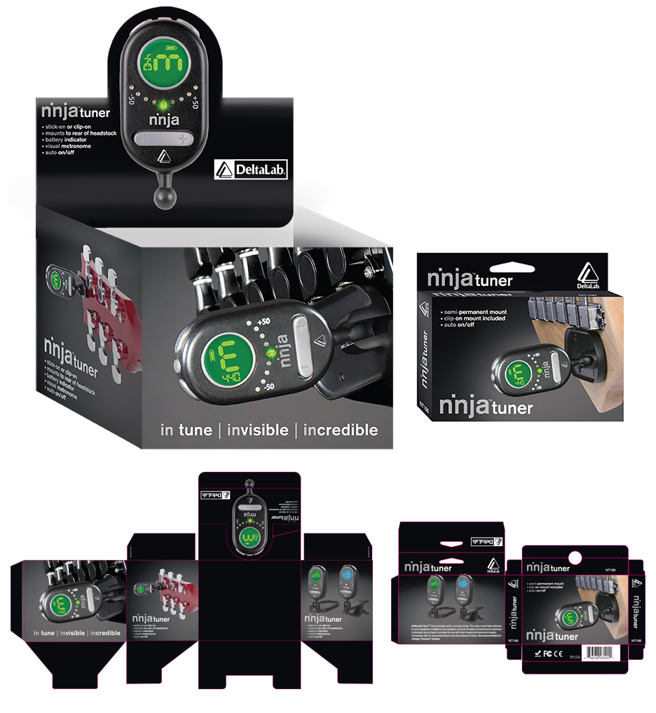 DeltaLab Ninja Tuner Packaging