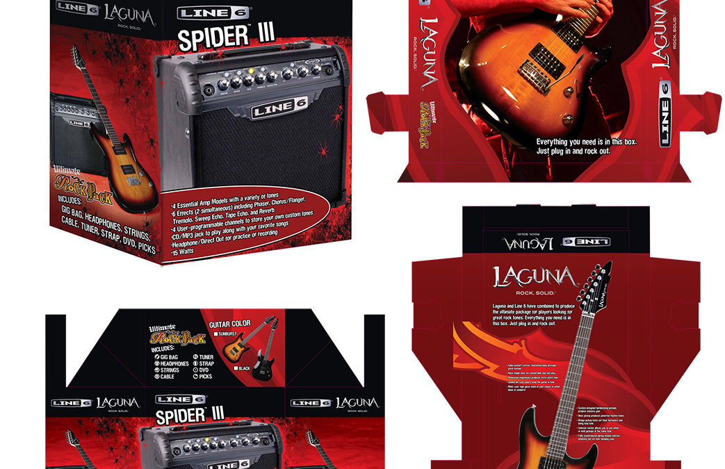 Laguna Guitars and Line 6 Guitar Pack