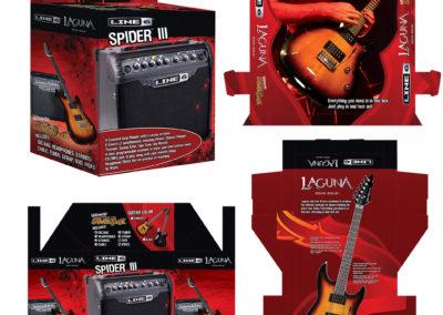Laguna Guitars and Line 6 Guitar Pack