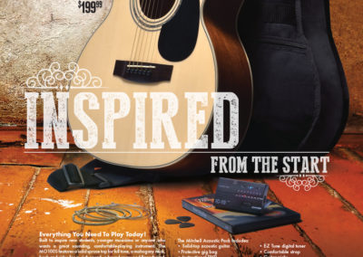 Mitchell Guitar Pack Ad: Inspired from the Start