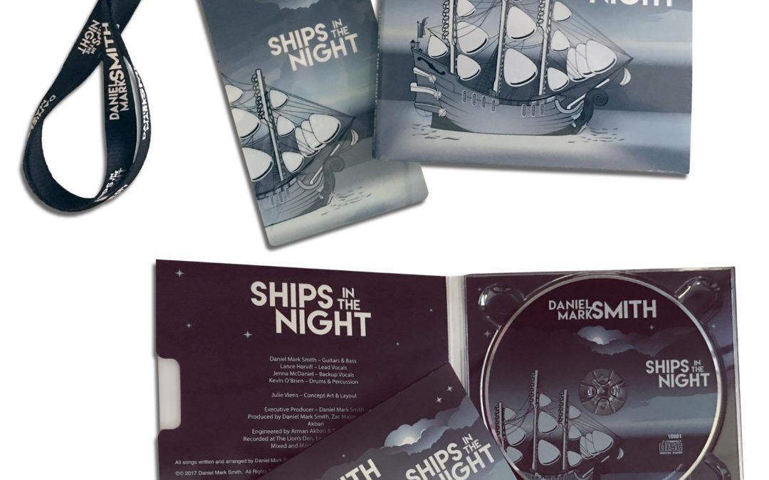 Ships in the Night CD Packaging and Collateral