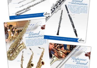 Allora Band Classroom Ad Campaign