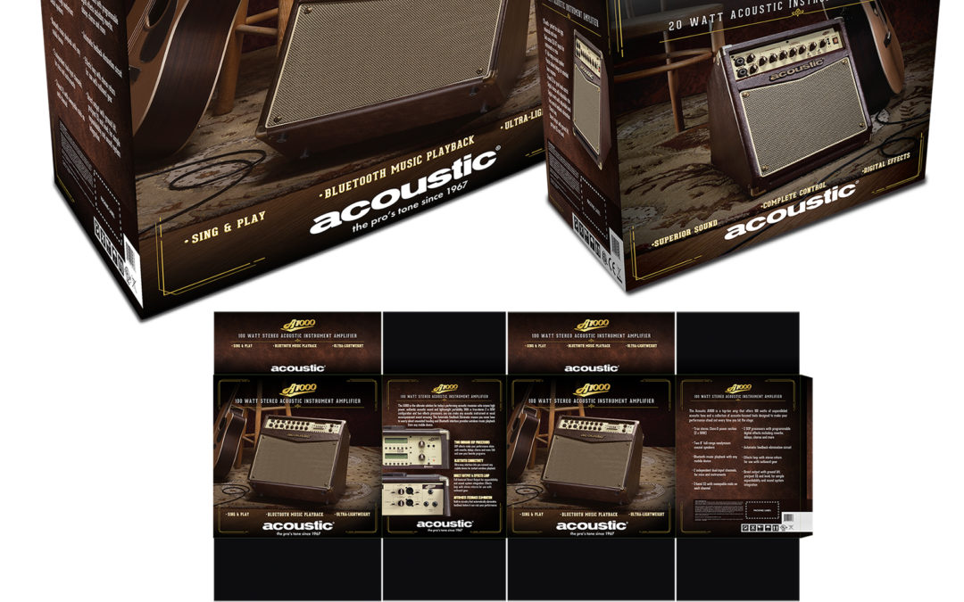 Acoustic A-Series Amp Packaging