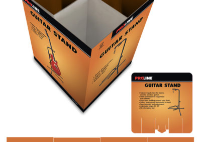 Proline Guitar Stand Floor Loader Display
