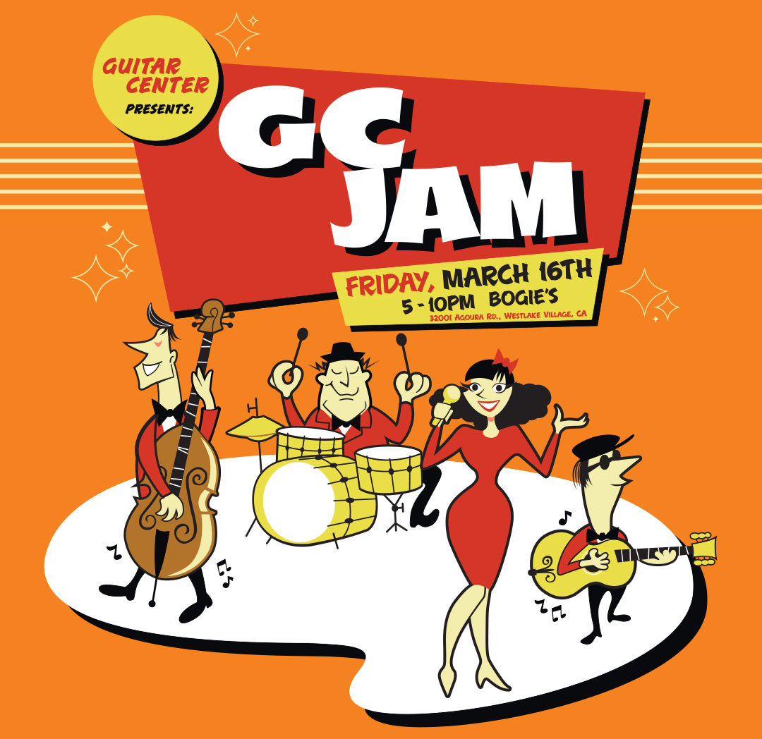 Guitar Center Jam Night: March 2018