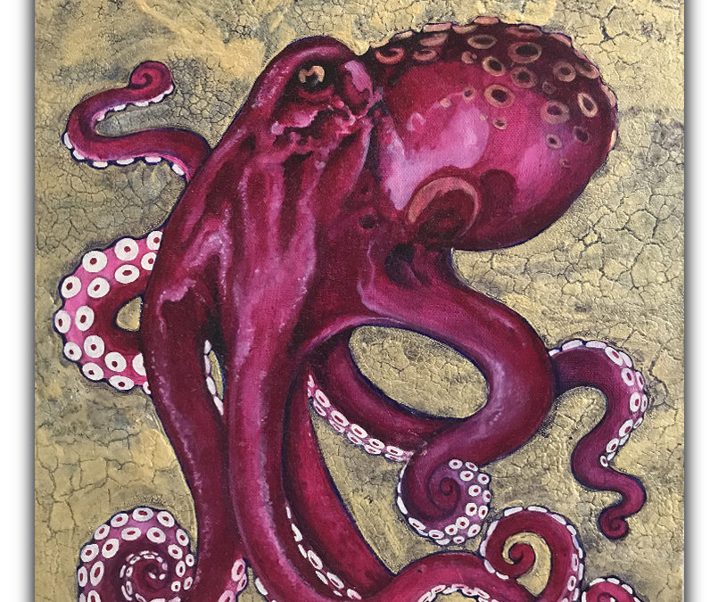 Octopus on Gold