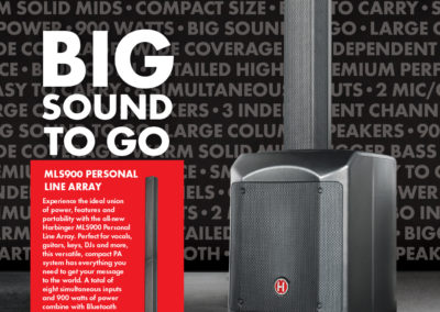 Harbinger MLS900: Big Sound To Ad