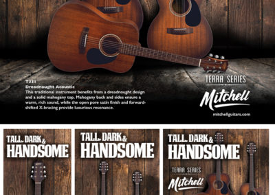 Mitchell Terra Series: Tall Dark and Handsome Ads