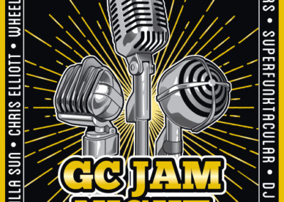Guitar Center Jam Night Poster and Digital Graphics: March 2019