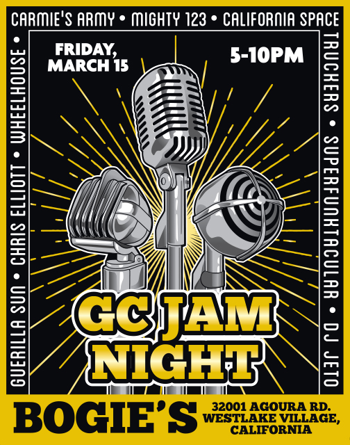 Guitar Center Jam Night: March 2019