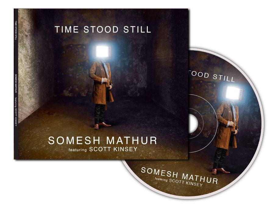 Time Stood Still CD Packaging
