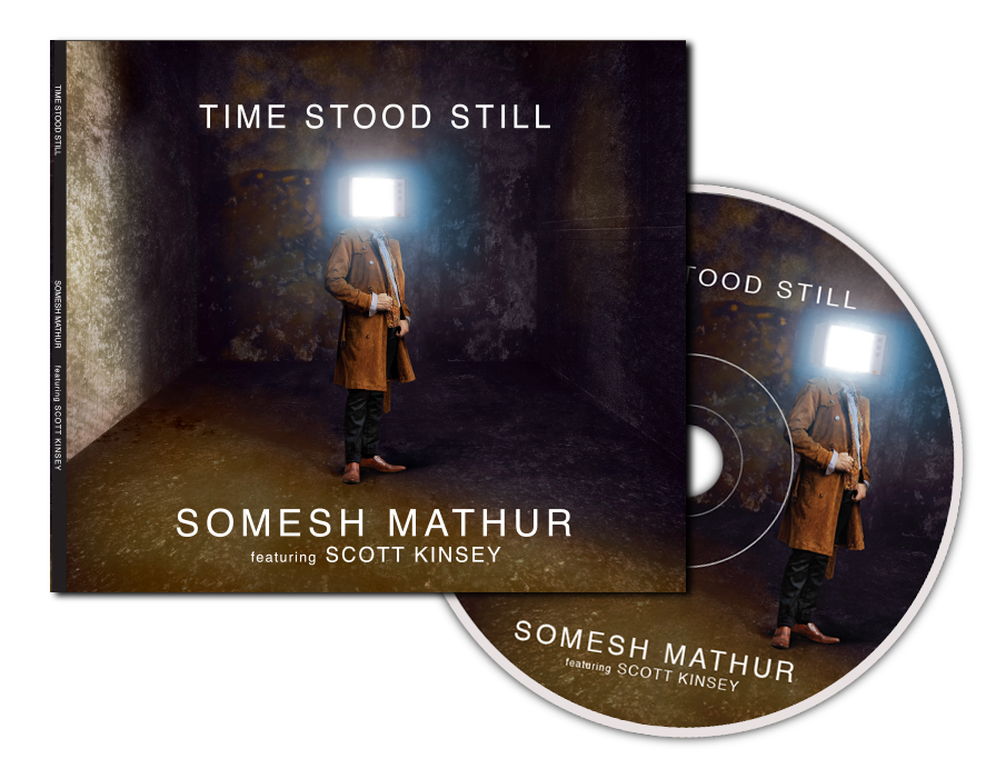Time Stood Still CD Packaging