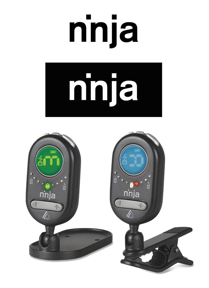 DeltaLab: ninja Guitar Tuner Logo