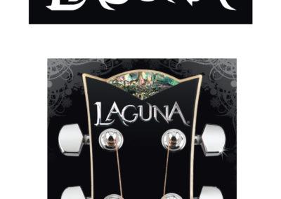 Laguna Guitars Logo and Identity
