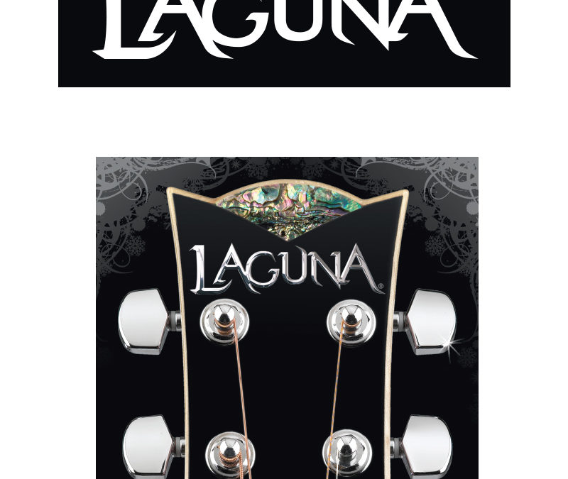 Laguna Guitars Logo and Identity