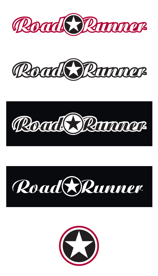 Road Runner Logo and Identity