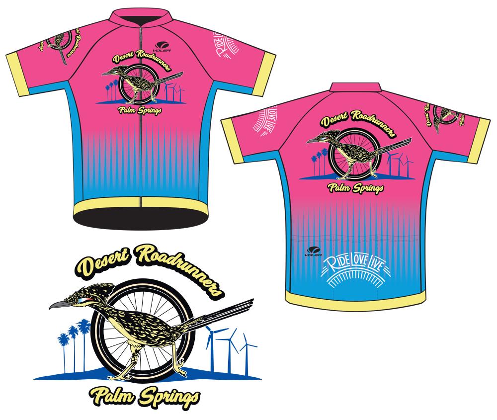 Desert Roadrunners Cycling Jersey